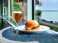 Balaton expresszvonat - hamburger
