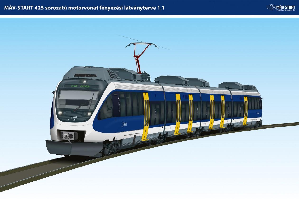 Bemutatták az első új FLIRT-motorvonatot