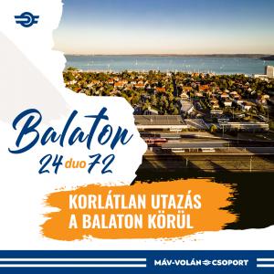 Új jegytípusok segítik a Balaton partján nyaralókat