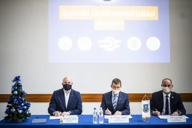 Dr. Homolya Róbert, Dr. Gelencsér András és Csillag Zsolt