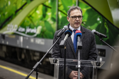 Kerékgyártó József, a MÁV-START Zrt. vezérigazgatója