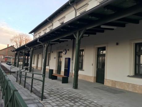 MÁV Felújított tapolcai vasútállomás 1