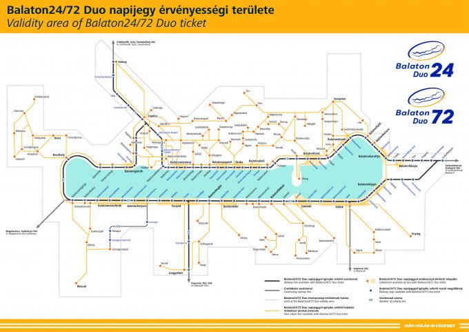 Balaton Duo térkép