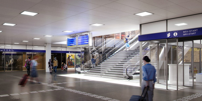 Keleti utascentrum_látványterv